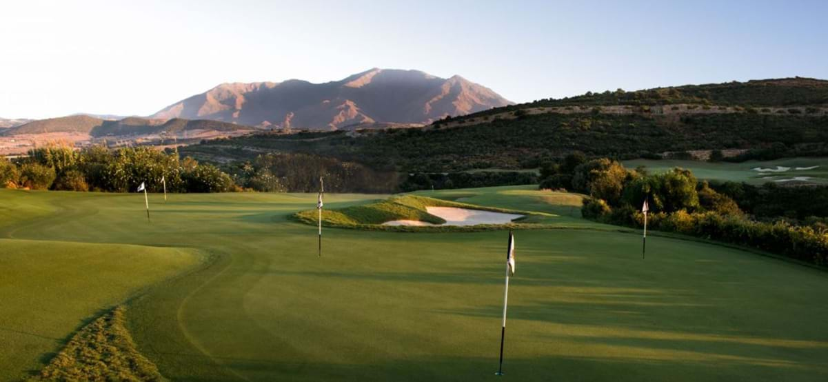 Finca Cortesin Golf Course, Malaga, Spain