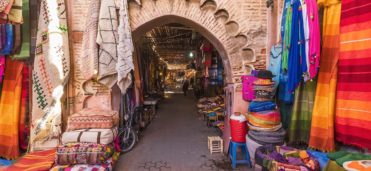 Jamaa El Fin Souk Market, luxury family vacation, Marrakech, Morocco, Africa